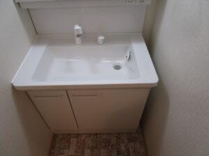 洗面台 施工後
